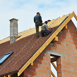 Roofer with Liability Insurance